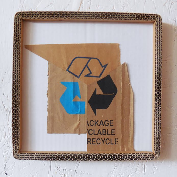 lara luna bartley, cardboard, screen prints