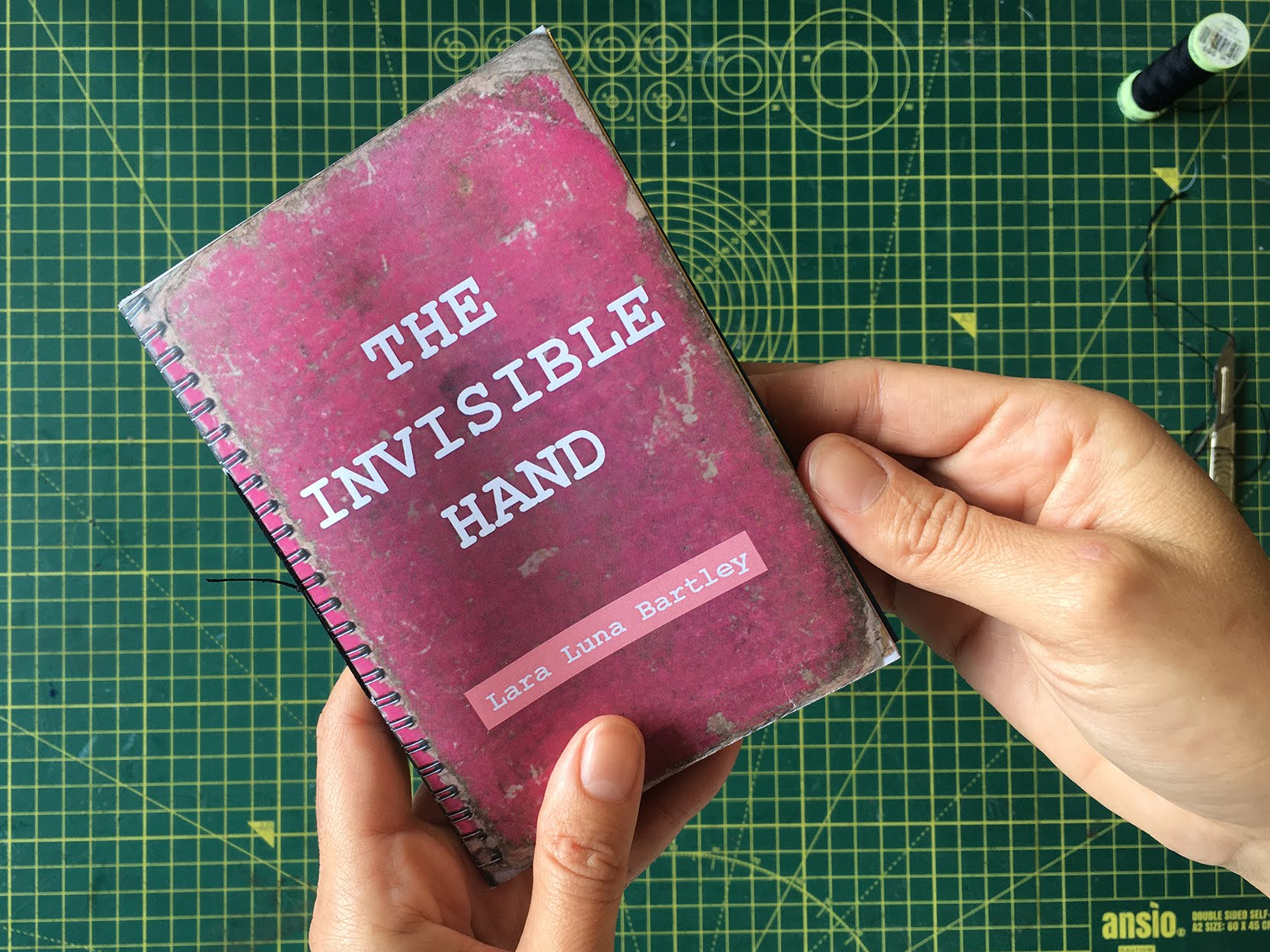 the invisible hand, zine